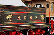 Train Rides Framed Prints - Northern Central Railroad  Framed Print by Rachel Rodgers