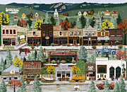 Exposure Painting Prints - Northern Exposure Print by Jennifer Lake