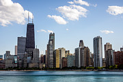 Chicago Prints - Northern Gold Coast Skyline in Chicago Print by Paul Velgos