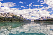 George Oze - Maligne Lake View in the...