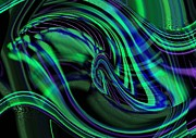 Christina Shaskus - Northern Lights Abstract