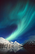 Update Prints - Northern Lights over Portage Print by Daryl Pederson
