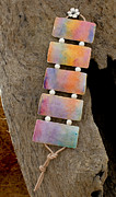 Watercolor Jewelry Originals - Northern Lights by Sandra Schultz