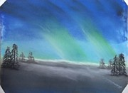 Northern Lights Print by Tracey Williams