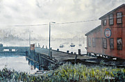 Ballard Paintings - Northern Mist by Bill Hudson