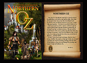 Kinkade Mixed Media Posters - NORTHERN OZ cover and intro 48 Poster by Vjkelly Artwork