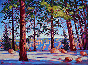 Canyon Paintings - Northern Rim by Erin Hanson