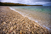 Fall Photos Prints - Northern Shores Print by Adam Romanowicz