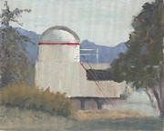 Mount Wilson Paintings - Northrup Observatory by  Elizabeth B Tucker