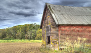 Northwest Barn Print by Jean Noren