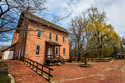 Indiana Trees Photos - Northwest Indiana Grist Mill by Paul Velgos
