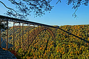 Northwest View Of Gorge Bridge Print by Timbo Connard