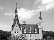 Northwestern University - University Hall Print by University Icons