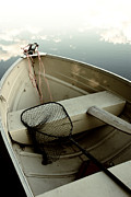 Northwoods Photos - Northwoods Fishing Boat by Birgit Tyrrell
