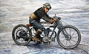  Vintage Originals - Norton Rider by Ruben Duran