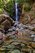 North Vancouver Metal Prints - Norvan Falls Metal Print by James Wheeler