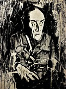 Horror Movies Painting Framed Prints - Nosferatu Framed Print by Michael Kulick