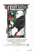 Vampires Framed Prints - Nosferatu Poster Framed Print by Sanely Great