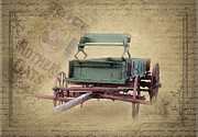 Old Wooden Wagon Prints - Nostalgia Print by Betty LaRue
