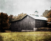 Pennsylvania Barns Prints - Nostalgia Print by Lisa Russo