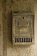 Letter Box Framed Prints - Nostalgia - old and rusty mailbox Framed Print by Matthias Hauser