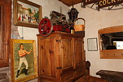Nostalgic Corner In The Cellar Room At The Swiss Hotel In Sonoma California 5d24442 Print by Wingsdomain Art and Photography