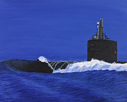 Navy Paintings - Not a Moment to Lose by Carl Hartsfield