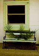Window Bench Photos - Not A Rest Stop Anymore by Cassondra Davison