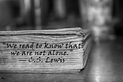 Read Mixed Media - Not Alone BW by Photography By Kaitlin Vick