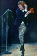 Mick Jagger Paintings - Not Fade Away by Tom Roderick