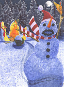 Seasonal Art - Not The Best Idea by Catherine G McElroy