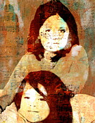 Spirits Mixed Media - Note To Granddaughters by Nancy TeWinkel Lauren