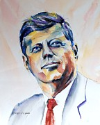 Jfk Paintings - Nothing Gold Can Stay. by Brian Degnon