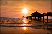 Pier Digital Art - Nothing Like a Clearwater Sunset by Bill Cannon