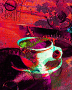 Future Dreams Prints - Nothing Like A Hot Cuppa Joe In The Morning To Get The Old Wheels Turning 20130718m43 Print by Wingsdomain Art and Photography