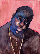 Rap Music Painting Originals - Notorious by Max Good