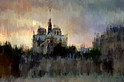 James Metcalf - Notre Dame at Dusk