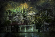 James Bethanis - Notre Dame at night
