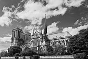 True Cross Metal Prints - Notre Dame de Paris Metal Print by Maj Seda