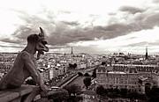 Kathy Yates - Notre Dame Gargoyle