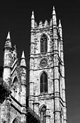 House Of God Photo Framed Prints - Notre Dame in Montreal Framed Print by John Rizzuto
