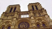 Middle Ages Digital Art - Notre Dame by Jenny Armitage