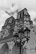 True Cross Photo Prints - Notre Dame Print by Maj Seda