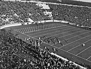 College Sports Prints - Notre Dame-USC Football Game Print by Underwood Archives