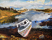Michael Helfen - Nova Scotia Fishing Boat