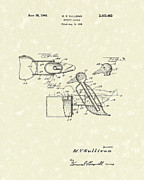 Sullivan Drawings Posters - Novelty Duck 1946 Patent Art Poster by Prior Art Design