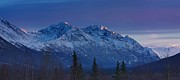 Alaska Photos - November Glow by Ed Boudreau