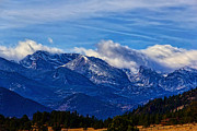Rocky Mountain National Park Posters Prints - November Morn Print by Jon Burch Photography