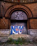 Run Down Metal Prints - Now Graffiti Metal Print by Amy Cicconi