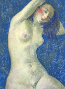 Academic Nudes Prints - Nu 1 Print by Leonid Petrushin